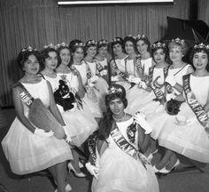 Queens of The International Trade Fair, 1962.