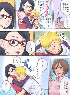 Sasuke Sakura Sarada, Boruto And Sarada, Naruto And Hinata, Naruto Art, Naruto Shippuden Anime, Cr7 Wallpapers, Animes Wallpapers, Boruto Characters, Anime Characters