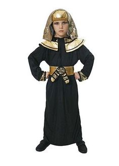 EGYPTIAN PHARAOH FANCYDRESS COSTUME OUTFIT PRINCE KING