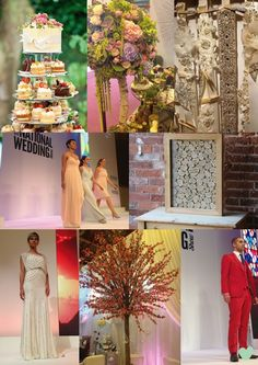 Top Finds at the Autumn 2014 The National Wedding Show Mood Board from The Wedding Community @thenws
