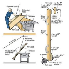 Move ungainly plywood sheets with ease