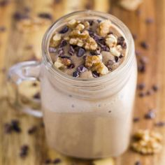 This Chocolate Walnut Breakfast Mousse tastes amazing, is healthy and is easy to make. It is also GF, DF and suitable for paleo and vegan.