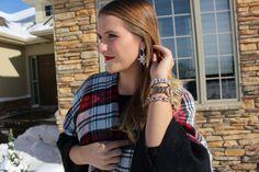 Wearing ponchos in winter