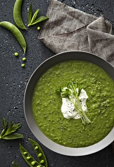 Pea Soup - Photographer Danella Chalmers Styling-Jack Hibbert  #foodphotography #styling #simplicity