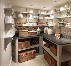 Basement remodel: Why not add a Butler pantry?