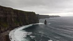 The magical Cliffs of Moher on the Burren Way! #hiking #Ireland #travel #adventure