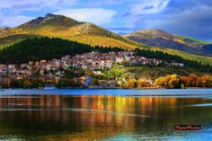 Greece , The town of Kastoria Best Places To Travel, Great Places, Beautiful Places, Places To Visit, Cool Pictures, Cool Photos, Amazing Photos, Travel Around The World, Around The Worlds