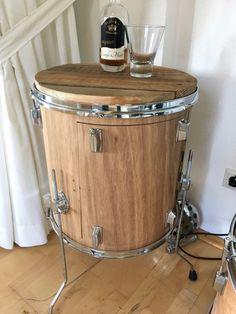 #upcycling #drums #bartisch #sidetable #floortom #schlagARTig