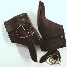 vintage boots LENA MILOS fw14/15 collection #girls #womenfashion #women #brand #altamoda #lenamilos