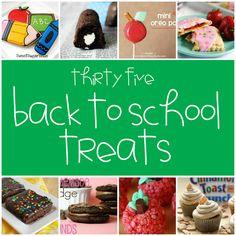 35 Back to School Treats - Something Swanky