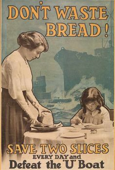 A propaganda poster for the British home front