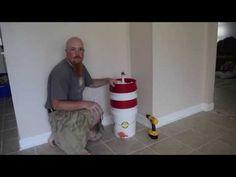 DIY Drill Powered Honey Spinner – Kilted Craft Works