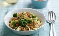Creamy Tenderstem and Salmon Pasta Recipe