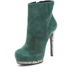 Pour La Victoire Volkova Booties ($231) ❤ liked on Polyvore