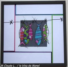 Marie claude L/ élève de Manel / encadrement récup ou biseaux en vis à vis Blog, Marie, Claude, Ainsi, Vacation Places, Picture Frame, Cartonnage, Blogging