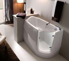 La vasca da bagno per spazi ridotti