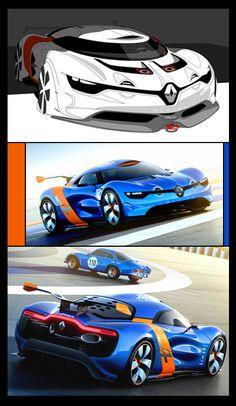 2012 @Renault #Alpine #A110 50_Concept
