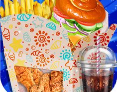 check out new work on my behance portfolio happy kids meal box maker