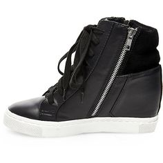 Top Moda Womens Peter-1 Fashion Wedge Sneakers found on Polyvore ...