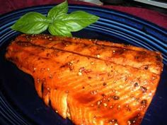 Grilled Steelhead Trout Fillets. Better than salmon and less expensive too.