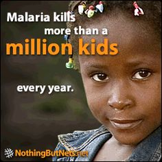 Malaria kills more than a million children every year.  For as little as $10, you can save a child by sending a net . . . these insecticide treated nets will provide 3 years of protection.  That is a great investment - ten dollars saves 1 life. Global Citizenship, Sustainable Development, Together We Can, Our Planet, 3 Years, First Love, Acting, Investing, Environment