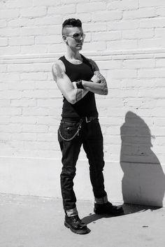 DapperQ, BOI, lesbian, queer, tomboy swag, tomboi, butch Model: Mack Dihle Facebook, Instagram, Twitter : Mack Dihle  www.mackdihle.com photographer: Molly Adams #genderqueer #bois