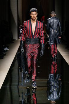 BALMAIN HOMME FALL/WINTER 2016  LOOK 6
