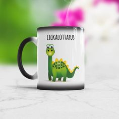 Lesbian Coffee Mug Gift for My Girlfried Gay Lickalottapus Valentines Joke Present For Her Lesbian Wedding Gift Color Changing or White Cup Wedding Jokes, Lesbian Wedding, Wedding Gifts, Wedding Stuff, Valentine Jokes, Valentine Gifts, Tea Mugs, Coffee Mugs, Animal Mugs