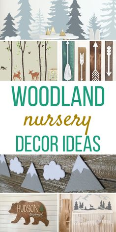 Looking for super cute woodland decor ideas for your nursery? Whether it's for a baby girl, boy or gender neutral you will find something on this list. Woodsy Bedroom, Woodland Nursery Boy, Forest Nursery, Woodland Decor, Woodland Nursery Decor, Woodland Room, Bedroom Decor, Woodsy Decor, Diy