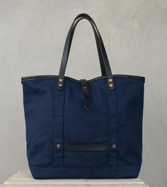 Atwater Leather Trim Tote Bag