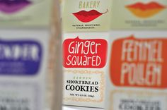 Botanical Bakery Brand Makeover and Package Design by David Brier , via Behance