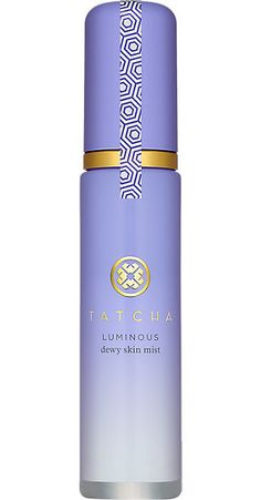 Set your look and add radiance with Tatcha Luminous Dewy Skin Mist ($48).