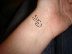Just a little #tattoo idea that I came up with. #peace