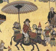 祇園祭礼図屏風 部分 Folding Screens of the Gion festival