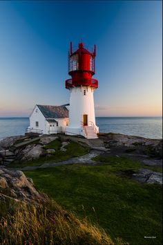 Lindesnes Lighthouse is a coastal lighthouse and museum on the southernmost tip of mainland Norway, the peninsula Neset. It is also the oldest lighthouse station in Norway, first lit in 1655.