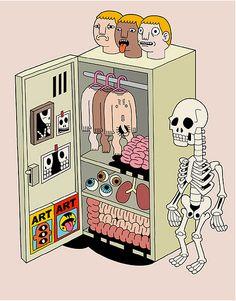 Máscaras, estereotipos, superficialidad... en exterior. Y por dentro?? Todos somos iguales!