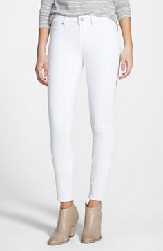 Articles of Society 'Sarah' Skinny Jeans (White) available at #Nordstrom