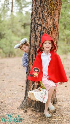 Little Red Riding Hood Woodland Picnic Party | Tikkido.com