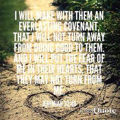 Jeremiah 32:40
