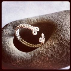 Adjustable Wire Weave Ring