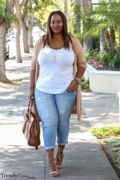 awesome Simply Neutral - Trendy Curvy by http://www.globalfashionista.xyz/plus-size-fashion/simply-neutral-trendy-curvy/