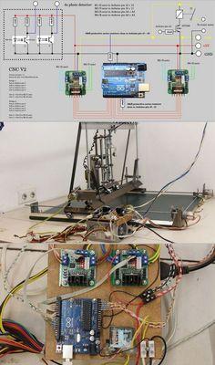 Arduino Uno USB CNC Projesi – Elektronik Devreler Projeler