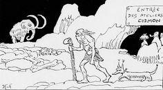 H.A. – Le Footing à l'âge de pierre (1912)