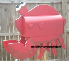 crab mailboxes - Google Search