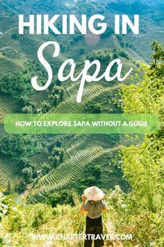 Sapa in Vietnam is one of the most beautiful places for a hike! The ricefields of Sapa are gorgeous. If you're on a budget in Vietnam and want to explore Sapa without a guide, check out this article! #Sapa #Vietnam