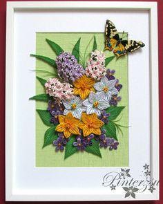 "160 oznaka ""sviđa mi se"", 13 komentara – Pintér Ferencné (@pinterzsu) na Instagramu: ""#quilling #handmade #paperart #quillingflowers #springflowers #butterfly #pinterzsu"""