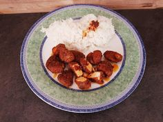 Janula Vesnicka: Kuře po indicku Meat, Chicken, Blog, Blogging, Cubs