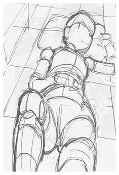 Clube do Manga #anime #sleeping #bed #animesleepingbed Desenho do corpo deitado quer saber mais acesse o link e aprenda a desenhar Arte Com Grey's Anatomy, Anatomy Art, Figure Drawing Reference, Drawing Reference Poses, Leg Reference, Reference Images, Character Sketches, Character Drawing, Character Design