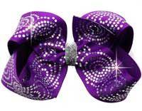 bling hair bows