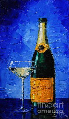 Veuve Clicquot by Mona Edulesco on Fine Art America ~ prints starting @ $22